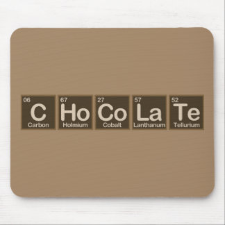 Chocolate Made of Elements Mouse Pad