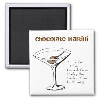 Chocolate Martini Recipe Magnet