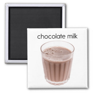 Chocolate Milk Refrigerator Magnet