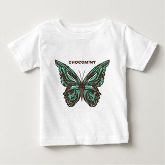 Chocolate mint butterfly baby T-Shirt