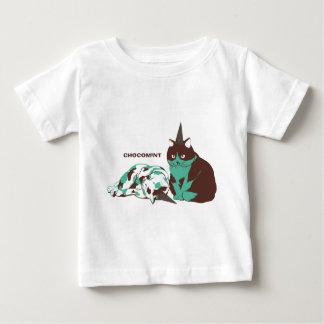 Chocolate mint _cat baby T-Shirt