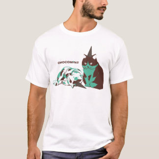 Chocolate mint _cat T-Shirt