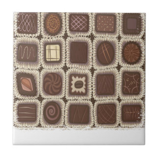Chocolate Mint Day - Appreciation Day Ceramic Tile