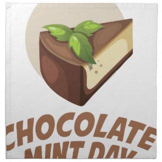 Chocolate Mint Day - Appreciation Day Napkin