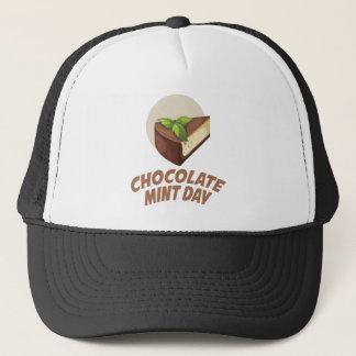Chocolate Mint Day - Appreciation Day Trucker Hat