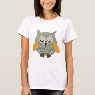 Chocolate Mint Owl T-Shirt