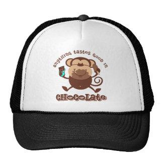 Chocolate Monkey Hat