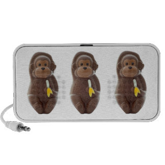 Chocolate Monkey Portable Speakers