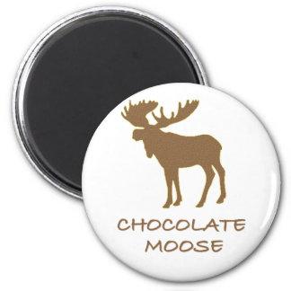 chocolate moose magnet