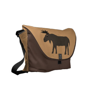 Chocolate Moose messenger bag