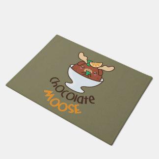 Chocolate Moose Mousse Doormat