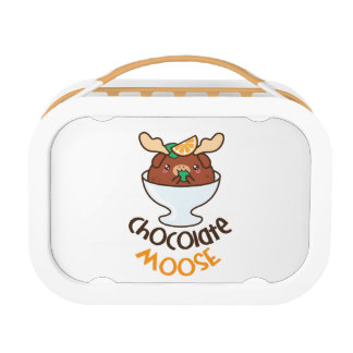 Chocolate Moose Mousse Lunch Boxes