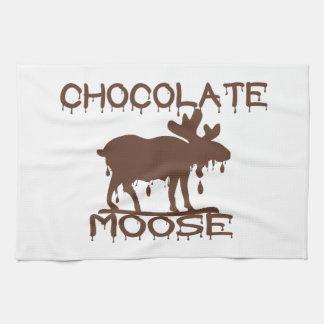 Chocolate Moose Tea Towel