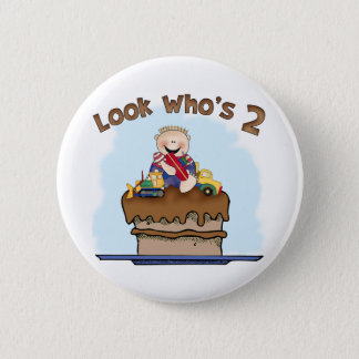 Chocolate Mud 2nd Birthday 6 Cm Round Badge