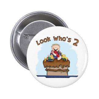 Chocolate Mud 2nd Birthday 6 Cm Round Badge