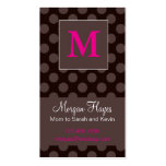 Chocolate Mummy Card Business Card Templates