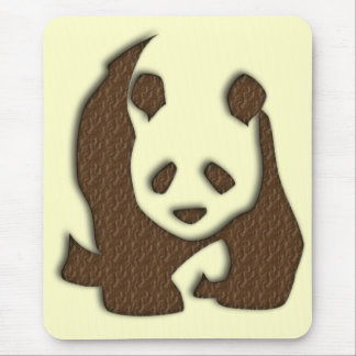 Chocolate Panda mousemat