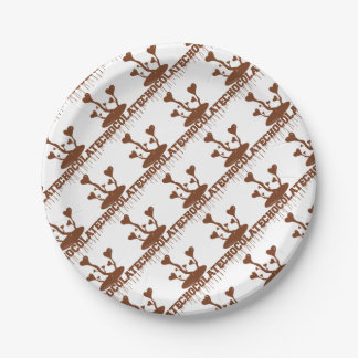 Chocolate Paper Plate