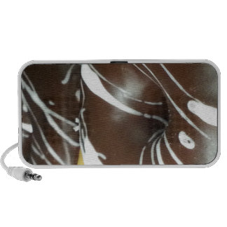 Chocolate Pastry Donut Notebook Speakers