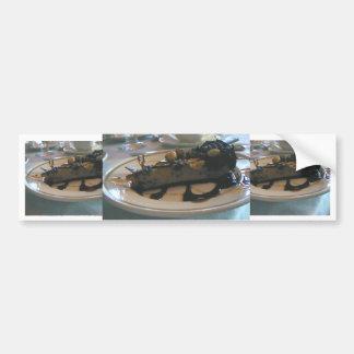 chocolate peanut butter cake bumper sticker