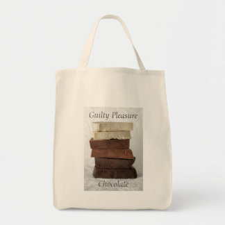 Chocolate Photograph with Customisable Text Tote Bag