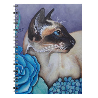 Chocolate Point Siamese Cat Notebook