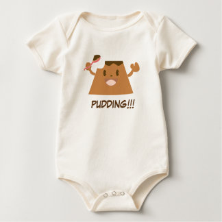 Chocolate PUDDING!!!! Baby Bodysuit