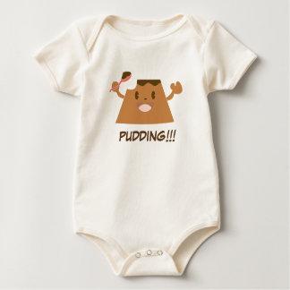 Chocolate PUDDING!!!! Baby Creeper
