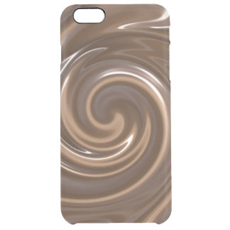 Chocolate pudding clear iPhone 6 plus case