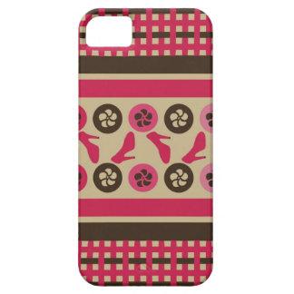 Chocolate Raspberry Flirty iPhone Universal Cases