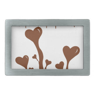 Chocolate Rectangular Belt Buckle