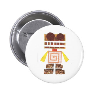 Chocolate Robot Badge