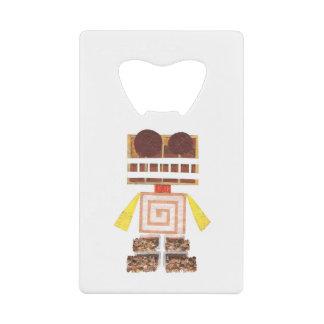 Chocolate Robot Credit Card Bottle Opener