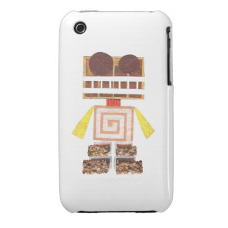 Chocolate Robot I-Phone 3G/3Gs Case iPhone 3 Covers