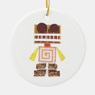 Chocolate Robot Ornament