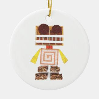 Chocolate Robot Ornament