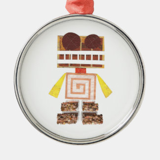 Chocolate Robot Premium Ornament