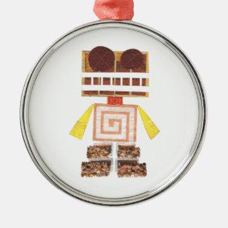 Chocolate Robot Premium Ornament