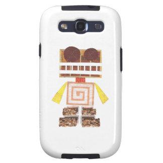 Chocolate Robot Samsung Galaxy S3 Case