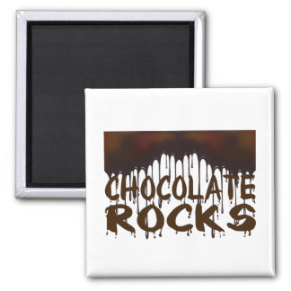Chocolate Rocks Magnet