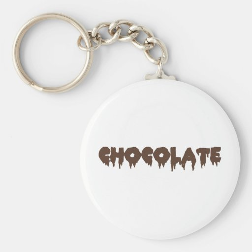 Chocolate - Rocky Horror Style Key Chain
