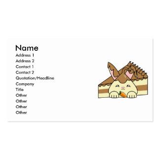 Chocolate Sauce Vanilla Hopdrop And Cake Business Card Templates