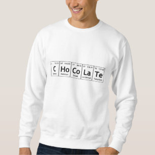 Periodic table elements spelling words gifts on zazzle au chocolate science periodic table words elements sweatshirt urtaz Choice Image