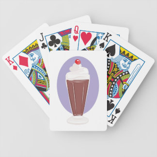 Chocolate Soda Bicycle Playing Cards