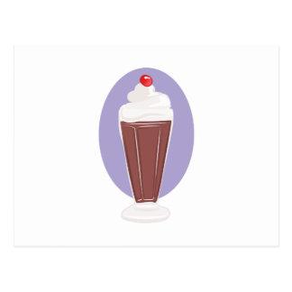 Chocolate Soda Postcard