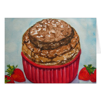 Chocolate Souffle Card
