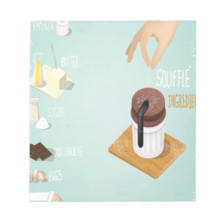Chocolate Soufflé Day - Appreciation Day Notepad