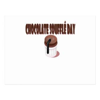 Chocolate Soufflé Day - Appreciation Day Postcard