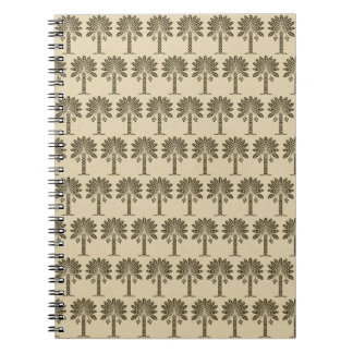 Chocolate Spice Moods Palm Note Books