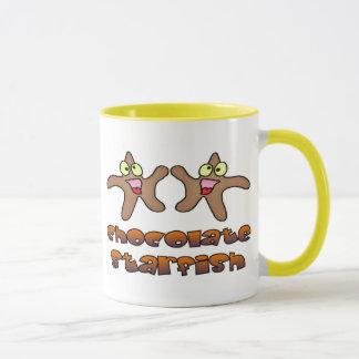 Chocolate Starfish Mug